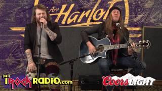 iRockRadio.com - We Are Harlot - Acoustic - Denial