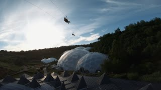 Hangloose at the Eden Project - FPV Cornwall