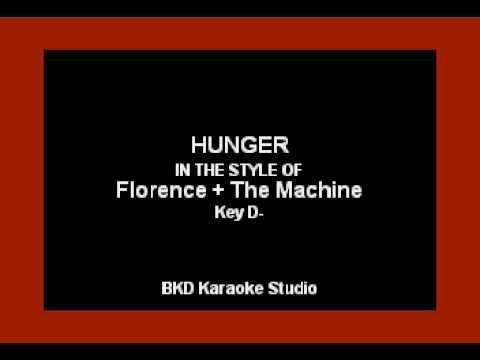 Florence + The Machine - Hunger (Karaoke with Lyrics)