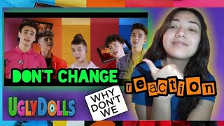 DON'T CHANGE   WHY DON'T WE (OFFICIAL MUSIC VIDEO) REACTION || JJ Castaneda