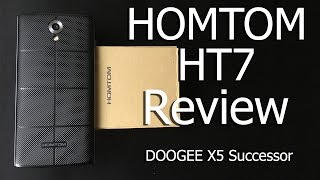 HOMTOM HT7 Review - DOOGEE X5 Successor