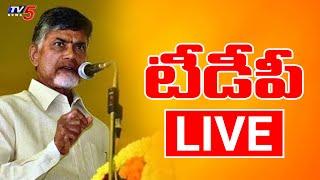 LIVE : Chandrababu Naidu Press Meet | TV5 LIVE