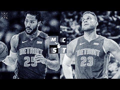 Derrick Rose & Blake Griffin Out vs Atlanta Hawks Monday | Detroit Pistons in Full Tank Mode!!!