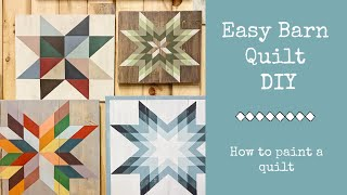 Make A Barn Quilt !