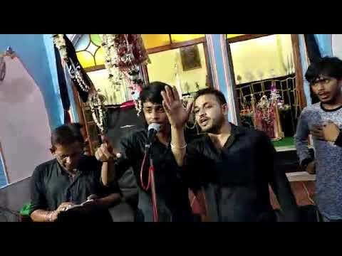 ANJUMAN_E_SHABIHE_PAYAMABAR_NOUHA_KHAN AMAAN ALI ... NOUHA JANAM YA HUSSAIN