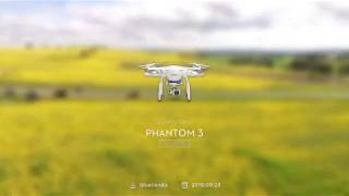 DJI Phantom Canola Fields Cowra NSW Australia