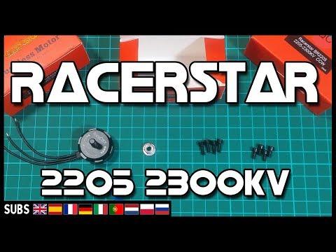 Racerstar 2205 2300kv - TEST