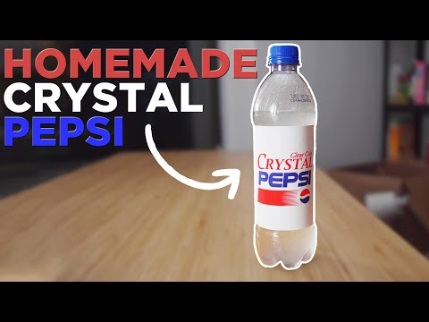 I Made The Discontinued Crystal Pepsi From Scratch