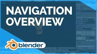 Navigation Overview - Blender Fundamentals