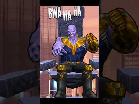 Spider-Man Unlimited(IRON SPIDER INFINITY WAR GAMEPLAY) and a Thanos Boss Fight
