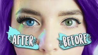 DIY Eye Makeover! Ft. IRIS BEAUTY