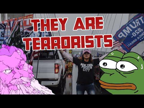 Trump & Texas GOP ENDORSE Trump Caravan Violence; Blocked Highways