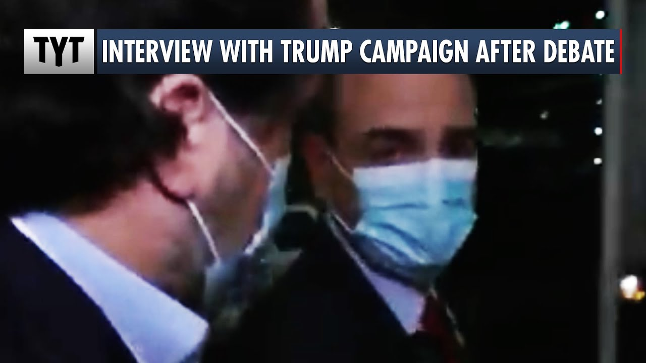 Senior Trump Campaign Staffer Interview After Debate thumbnail