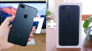 Apple iPhone 7 Plus Unboxing and First Impressions