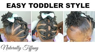 Easy Style For Toddlers | Kids Natural Hair Care
