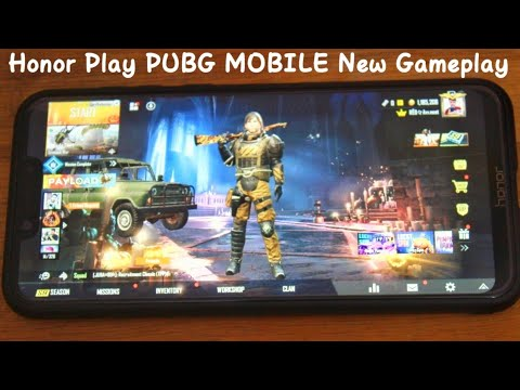 PUBG Mobile New Gameplay in Honor Play With Camera Recoding 😍 No Lag 🔥