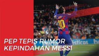 Dirumorkan Gabung ke Manchester City, Lionel Messi Dapat Saran dari Pep Guardiola