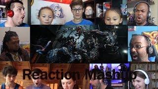 VENOM   Official Trailer 2 REACTION MASHUP