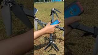 MJX Bugs 4w 4K Tes terbang setelah arm retak di repair