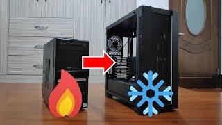 【Huan】 溫度爆降15度!! 幫朋友的電腦做散熱大改造