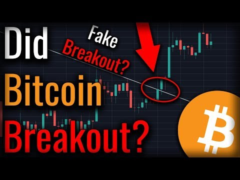 Did A Bitcoin Breakout Just Occur? What Bitcoin's Low Volume Is Telling Us! (видео)
