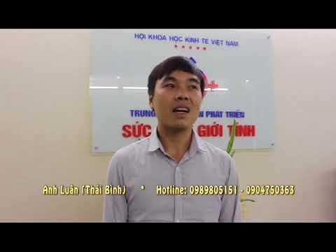 Anh Luân - Thái Bình cải thiện tốt sau khi điều trị