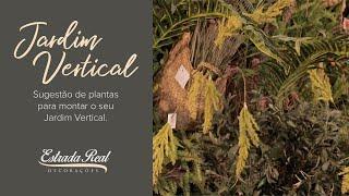 Jardin Vertical: quais plantas e folhagens utilizar.