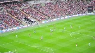 preview picture of video 'Man City vs Man Utd 1-0 FA Cup Semi Final Wembley 16.03 .m4v'