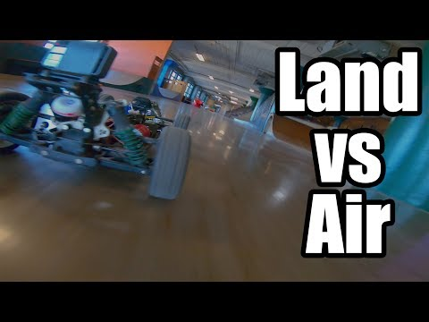 The Chase // Drone Vs RC Car