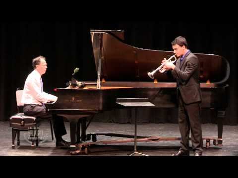 My performance at the 2012 National Trumpet Competition, just before I finished high school.