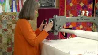 Learn How To Use A Long-Arm Quilting System - An Annies Video Class