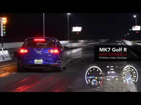 APR MK7 Golf R - Stage 2 Quarter Mile!