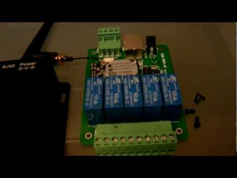 WIFI Home Automation Security Relay Kit Complete WWW.RAPIDRELAYS.COM