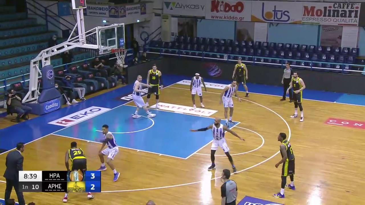 Basket League | «Πανδαισία» τριπόντων και… Τσάλμερς για τον Άρη στο Ιβανώφειο | 10/03/21 | ΕΡΤ