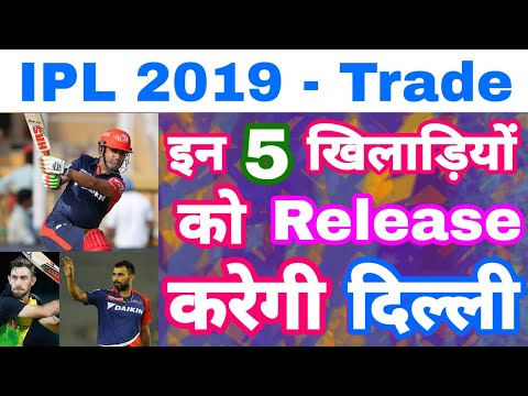 IPL 2019 - List Of 5 Players Might Released By Delhi Daredevils In IPL Mini Auction Trade