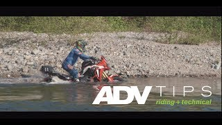 AltRider AfricaTwin River Crossing & ADV Tips