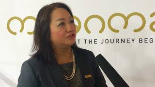 May Myat Mon Win, chairperson , Myanmar Tourism Marketing