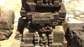 Cracked Sculptures at Adinatha Temple, Khajuraho