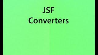 v35 JSF converters