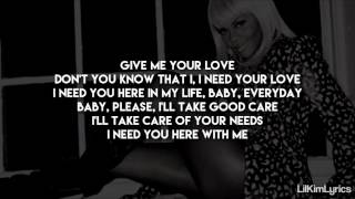 Lil' Kim - The Only One (Lyrics On Screen) Verse HD