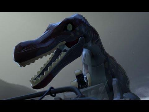 LEGO Jurassic World Walkthrough - Part 11: Landing Site