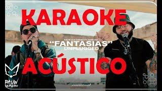 Rauw Alejandro Ft Farruko(Karaoke Acústico) Fantasías