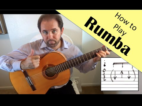 Here Ben Stubbs teaches you a quick lesson on how to play Rumba.