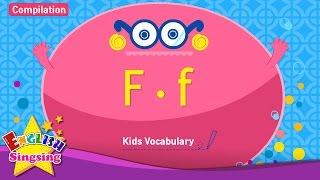 Kids từ vựng biên soạn - Words bắt đầu với F, f
