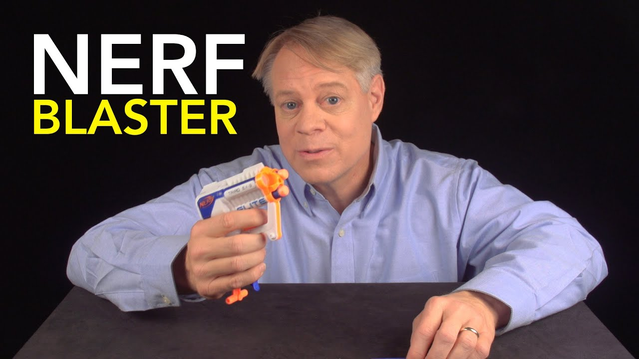 Here's Why The Nerf Gun Is Actually Brilliantly Engineered