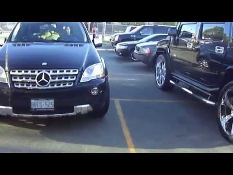 HILLYARD CUSTOM RIM&TIRE 2011 MERCEDES BENZ ML550 WITH 22