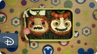 Disney Parks How-To Make a Bento Box Magical: Kakamora From Disney's 'Moana'