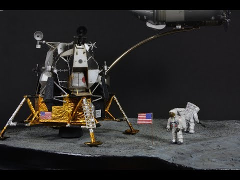 Apollo 11 50th Anniversary - 1/72 Nasa Model Diorama