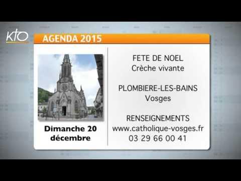 Agenda du 18 décembre 2015