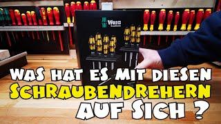 Wera Big Pack 900 Schraubendreher Set Kraftform - Schraubmeißel und Rack